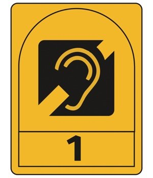 Logo for Accessibility NAS  - Hearing (H1) Award